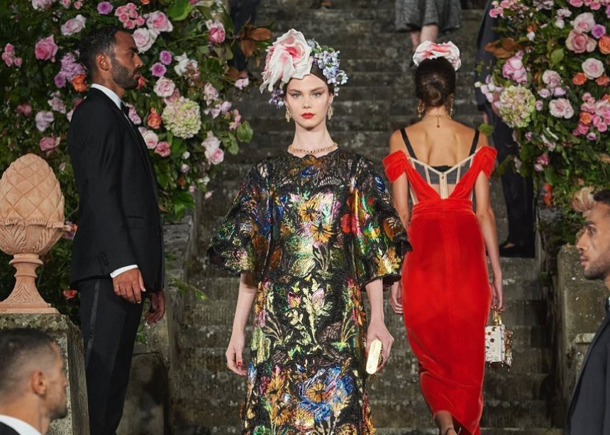 To φαντασμαγορικό show των Dolce & Cabbana που έγινε στην Φλωρεντία (video)