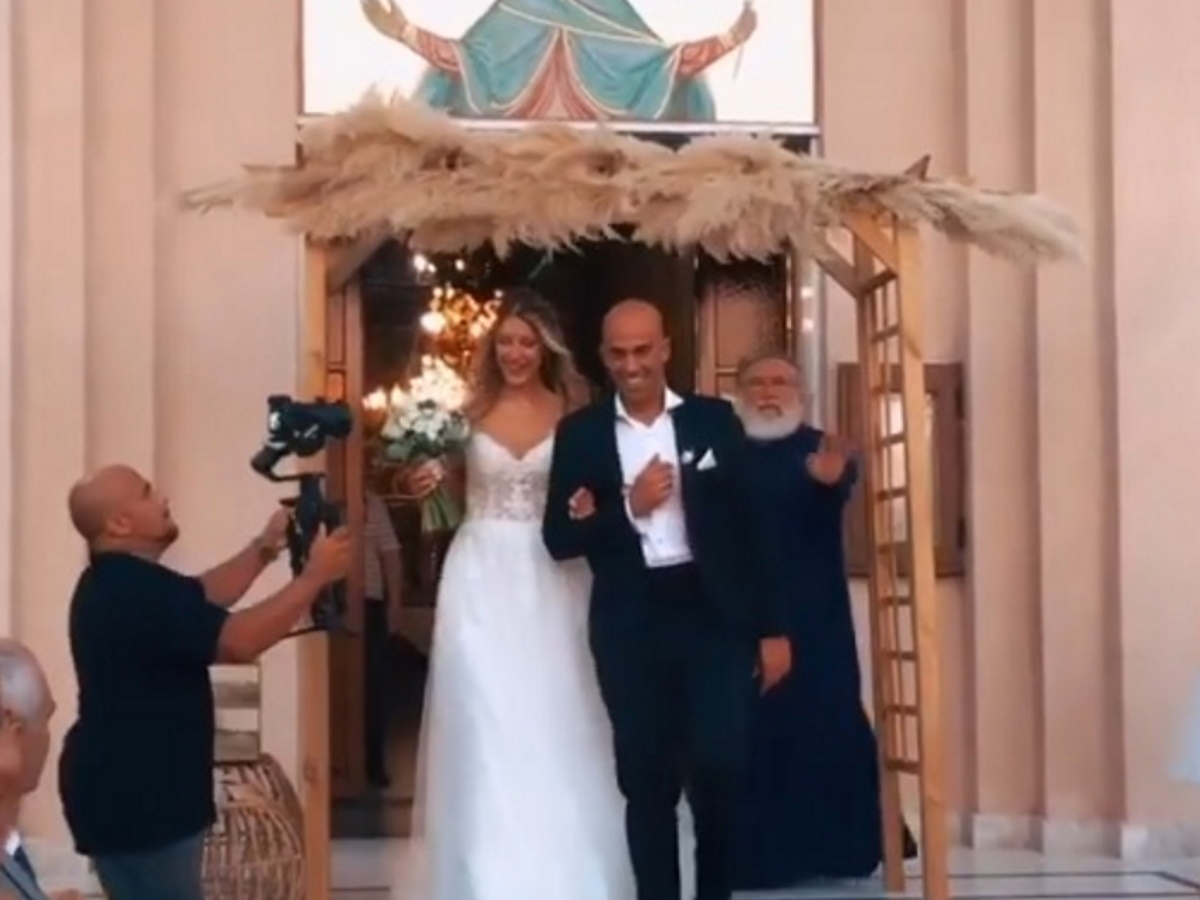 Παντρεύτηκε η Ελισάβετ Δοβλιατίδου! (pics,vids)