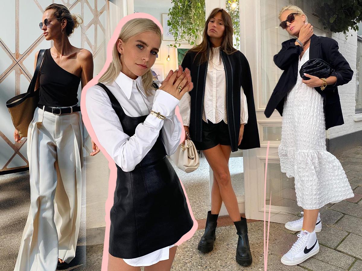 Άσπρο – μαύρο: Πώς να φορέσεις φέτος τον πιο διαχρονικό συνδυασμό