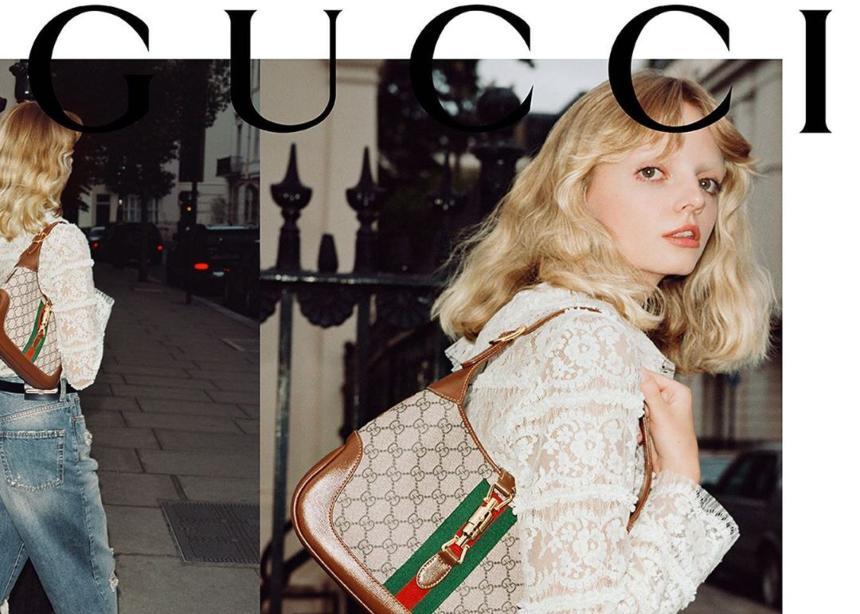 Ο οίκος Gucci λανσάρει ξανά την iconic τσάντα Jackie 1961 που σχεδίασε για την Jackie Kennedy!