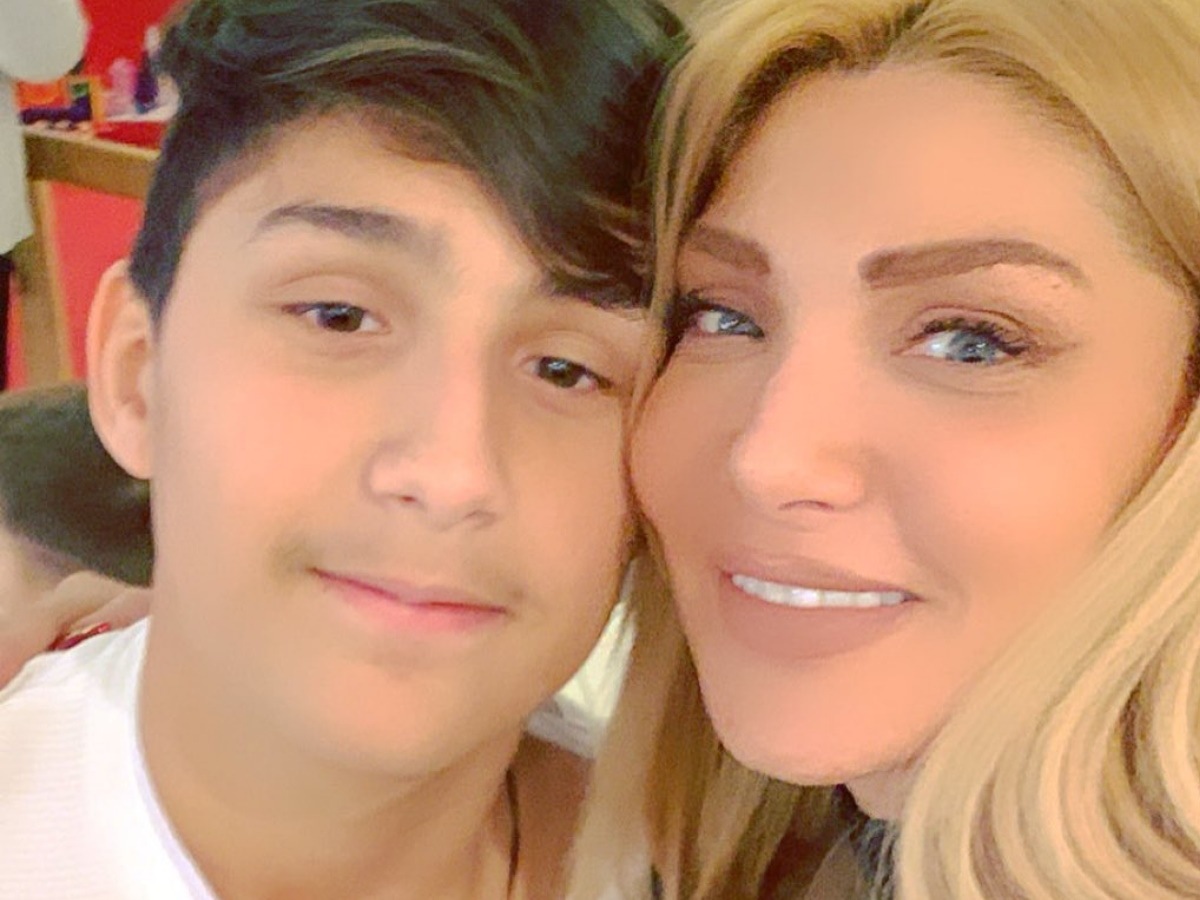 Αγγελική Ηλιάδη: Ατύχημα για τον μεγαλύτερο γιο της (pic)