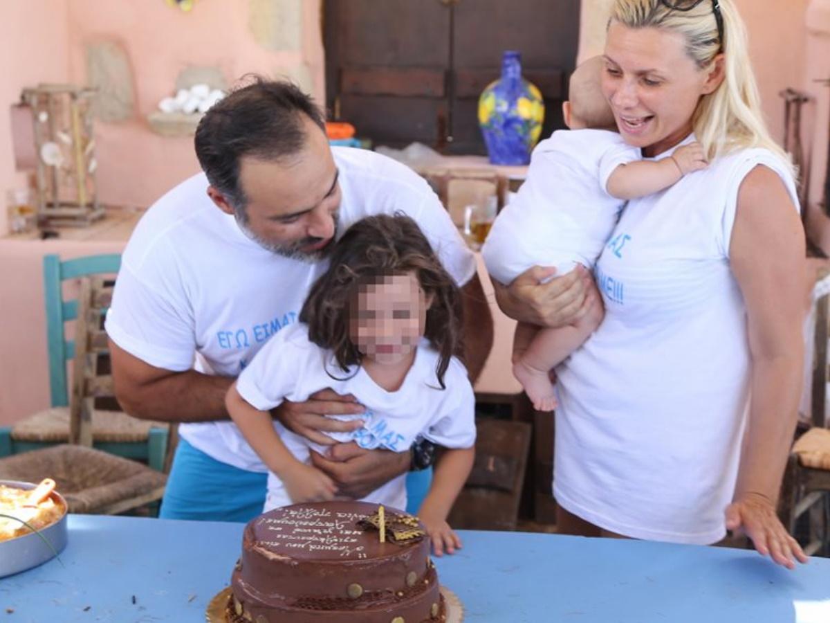 Κρατερός Κατσούλης: Οι τρυφερές ευχές για τα γενέθλια της κόρης του (pic)