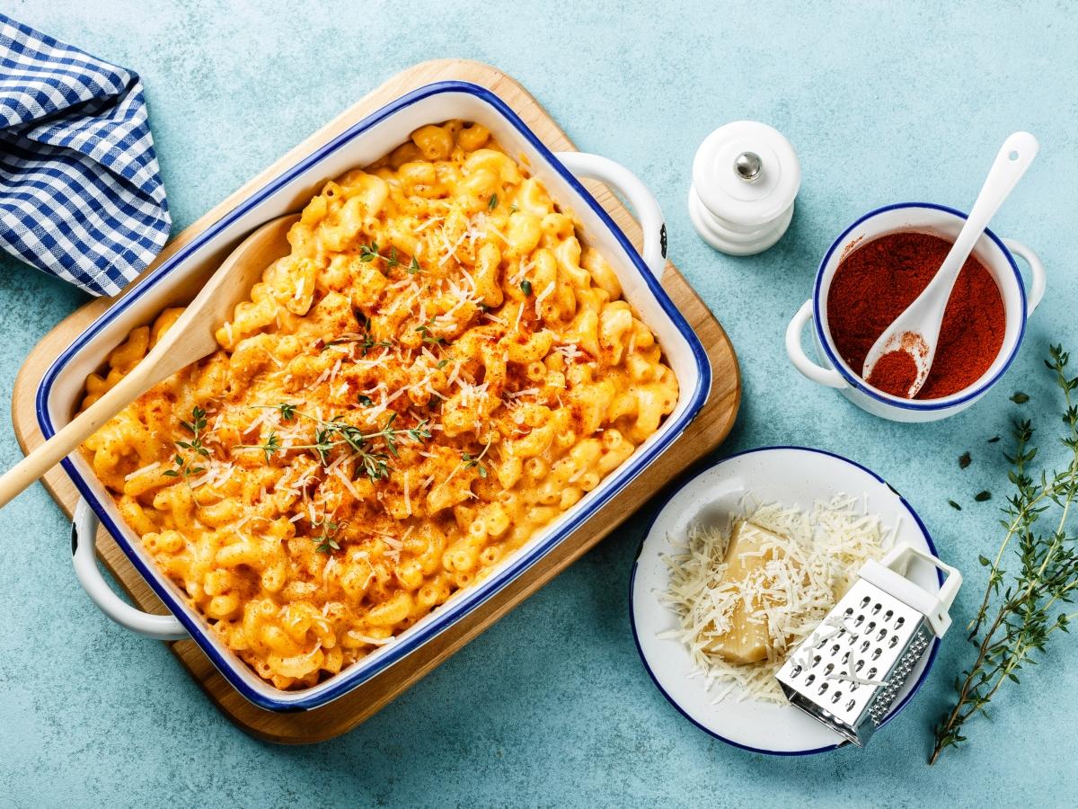 Συνταγή για mac & cheese στον φούρνο