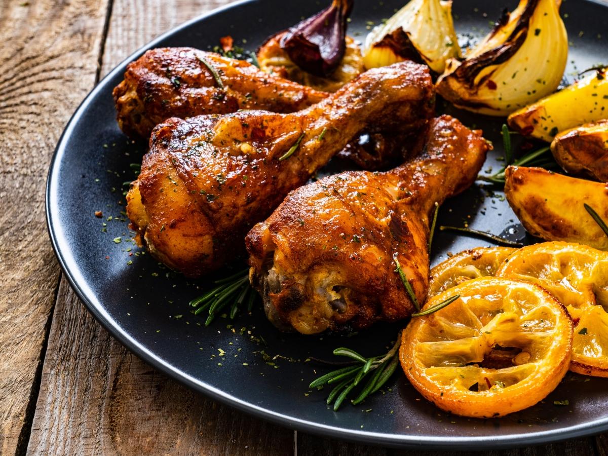Συνταγή για μπουτάκια κοτόπουλου στο φούρνο