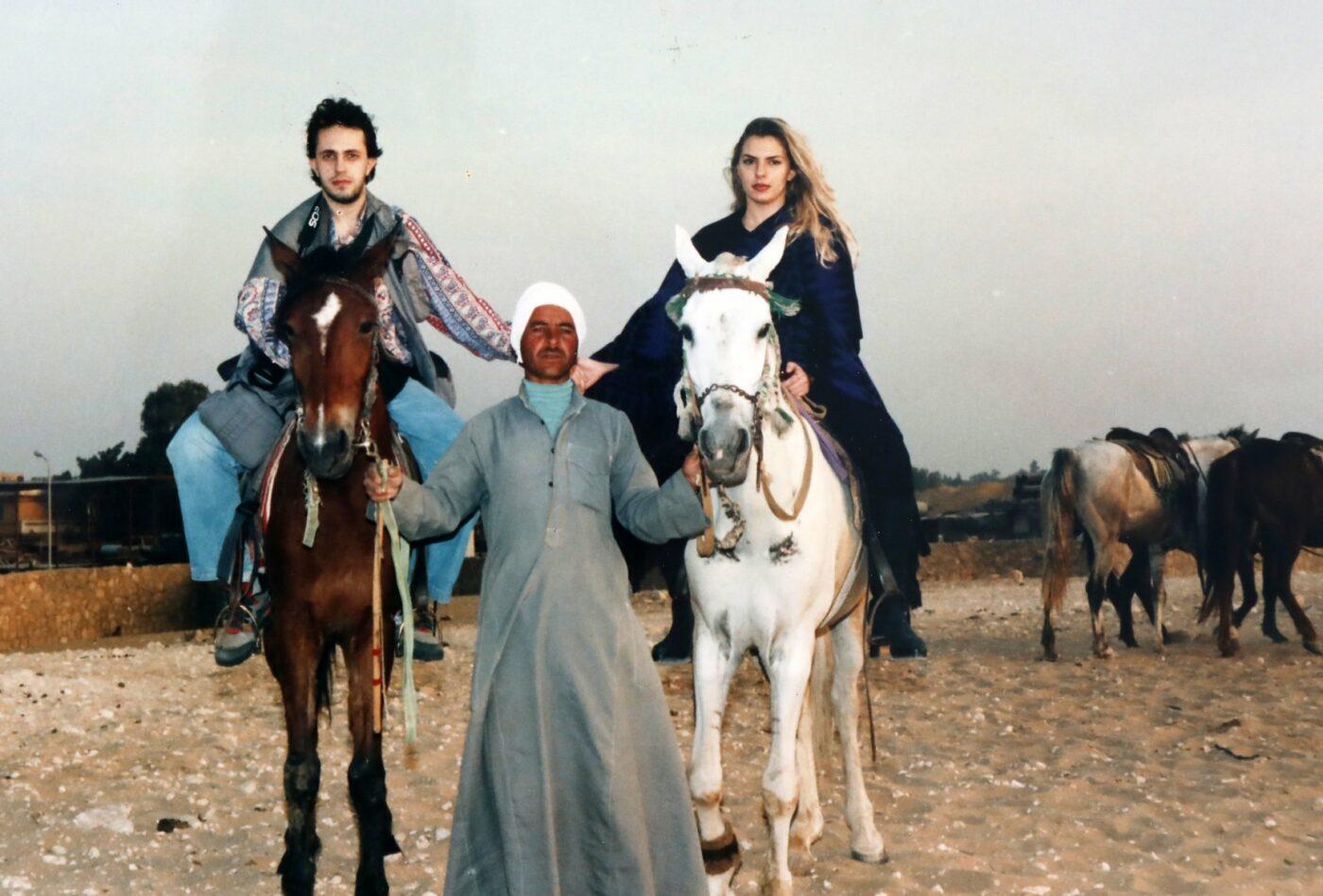 Ο Νίκος με την Αννίτα πριν 26 χρόνια