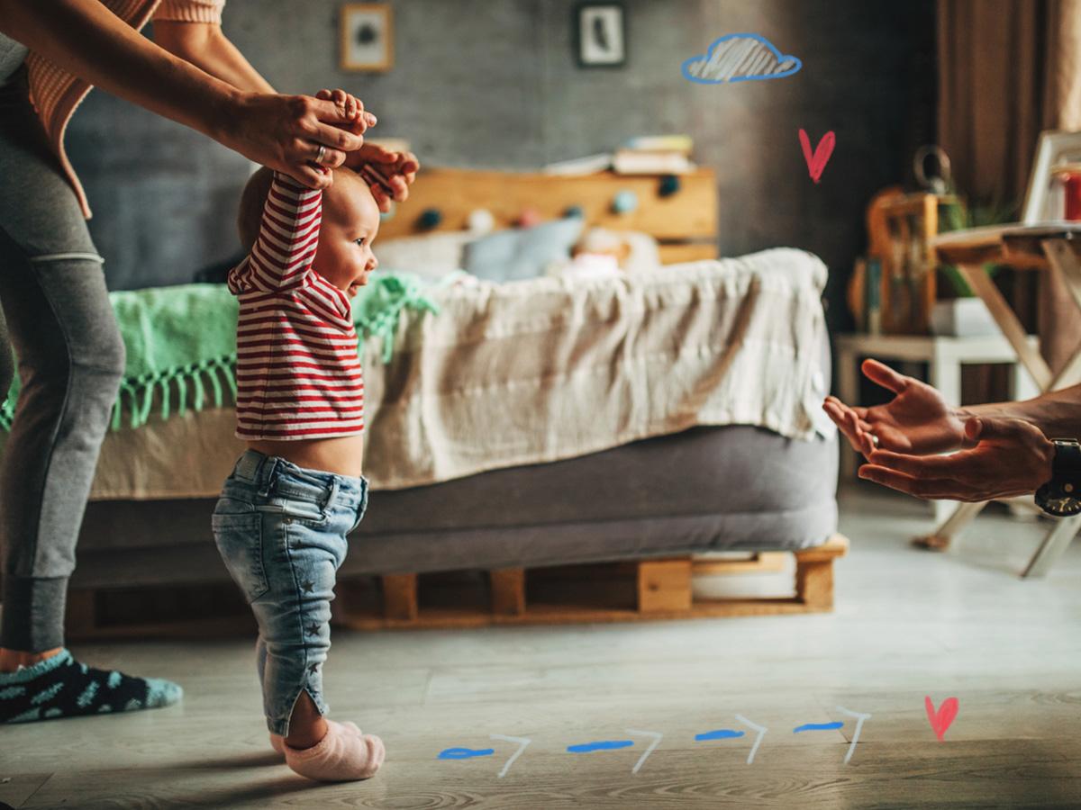 Σε ποια ηλικία περπατούν τα παιδιά και πότε πρέπει να ανησυχήσεις…