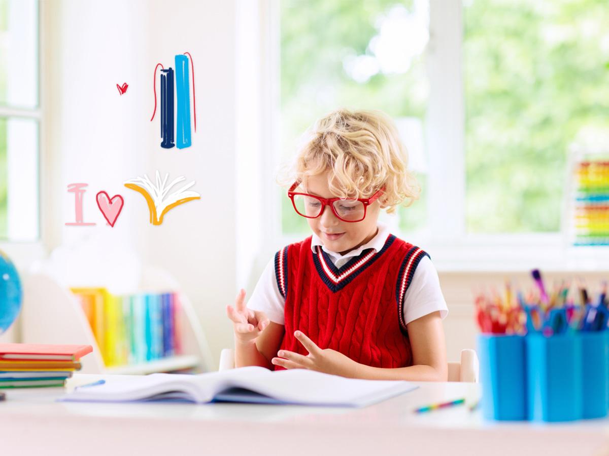 Στο σχολείο: Πώς θα κάνεις το παιδί σου να αγαπήσει το διάβασμα