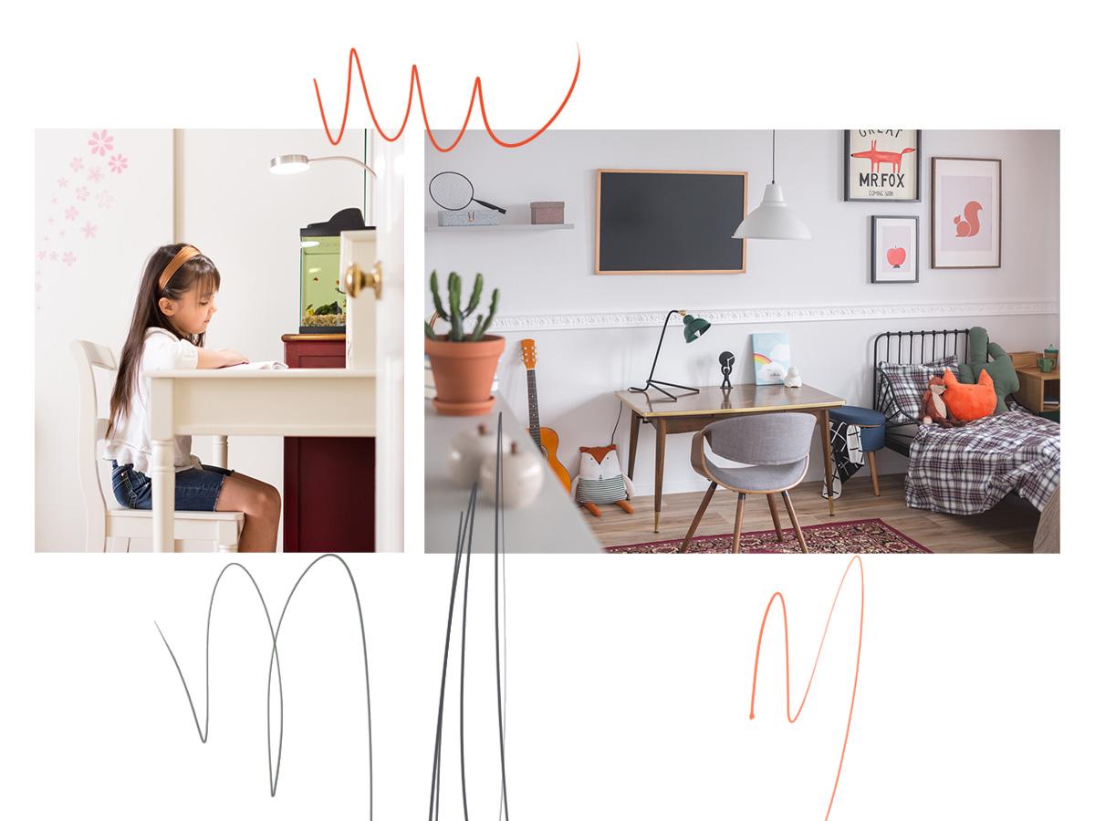 Παιδικό γραφείο στο δωμάτιο: Χρήσιμες συμβουλές για να επιλέξετε μαζί το σωστό