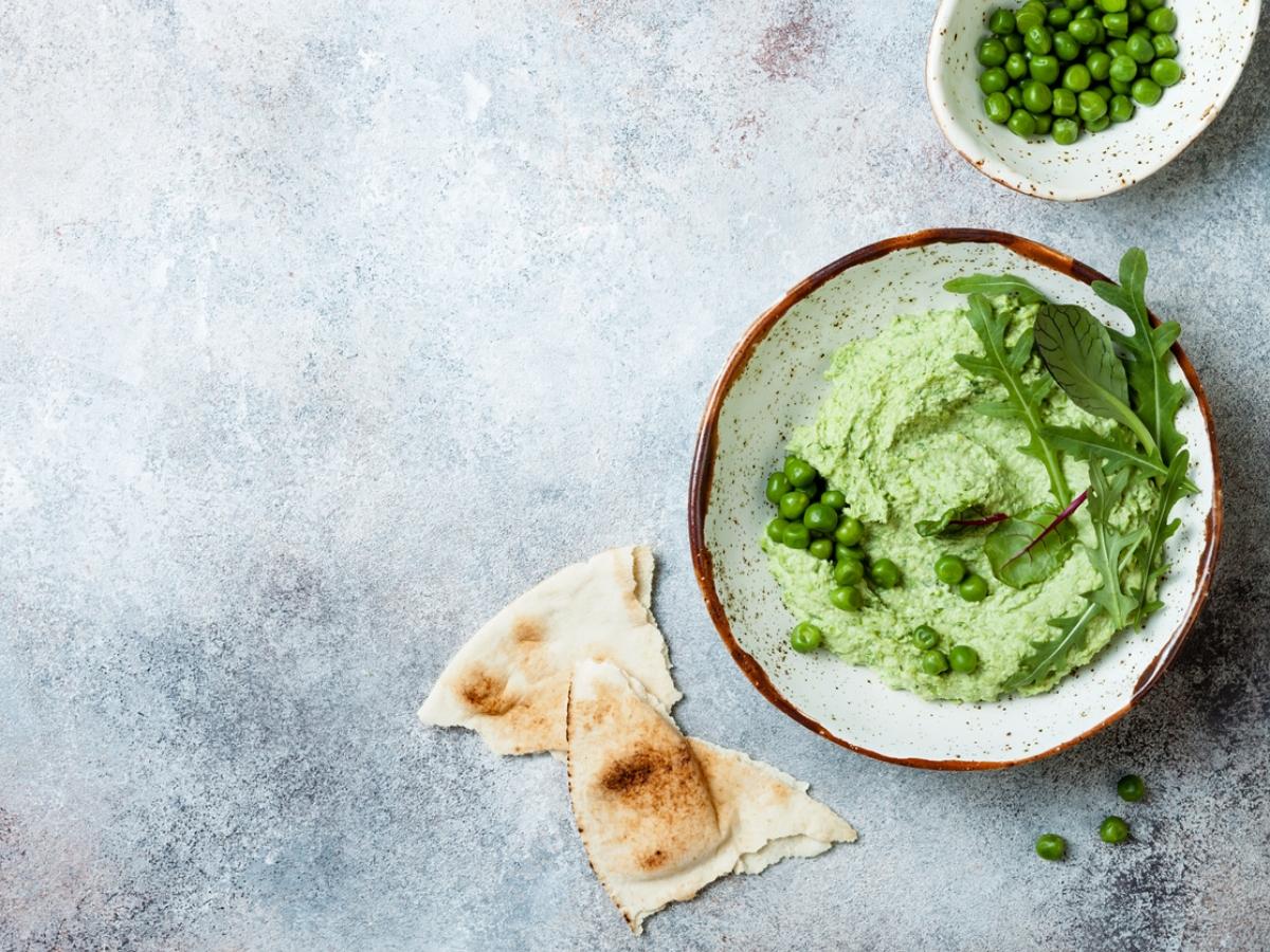 Συνταγή για χούμους από αρακά