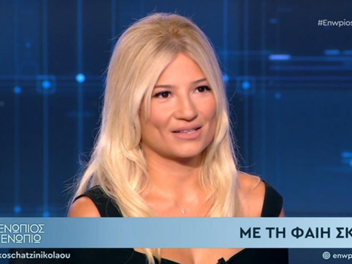 """Φαίη Σκορδά: Μιλάει για την περιπέτεια με τον κορονοϊό – """"Σοκαρίστηκα όταν το έμαθα"""" (video)"""