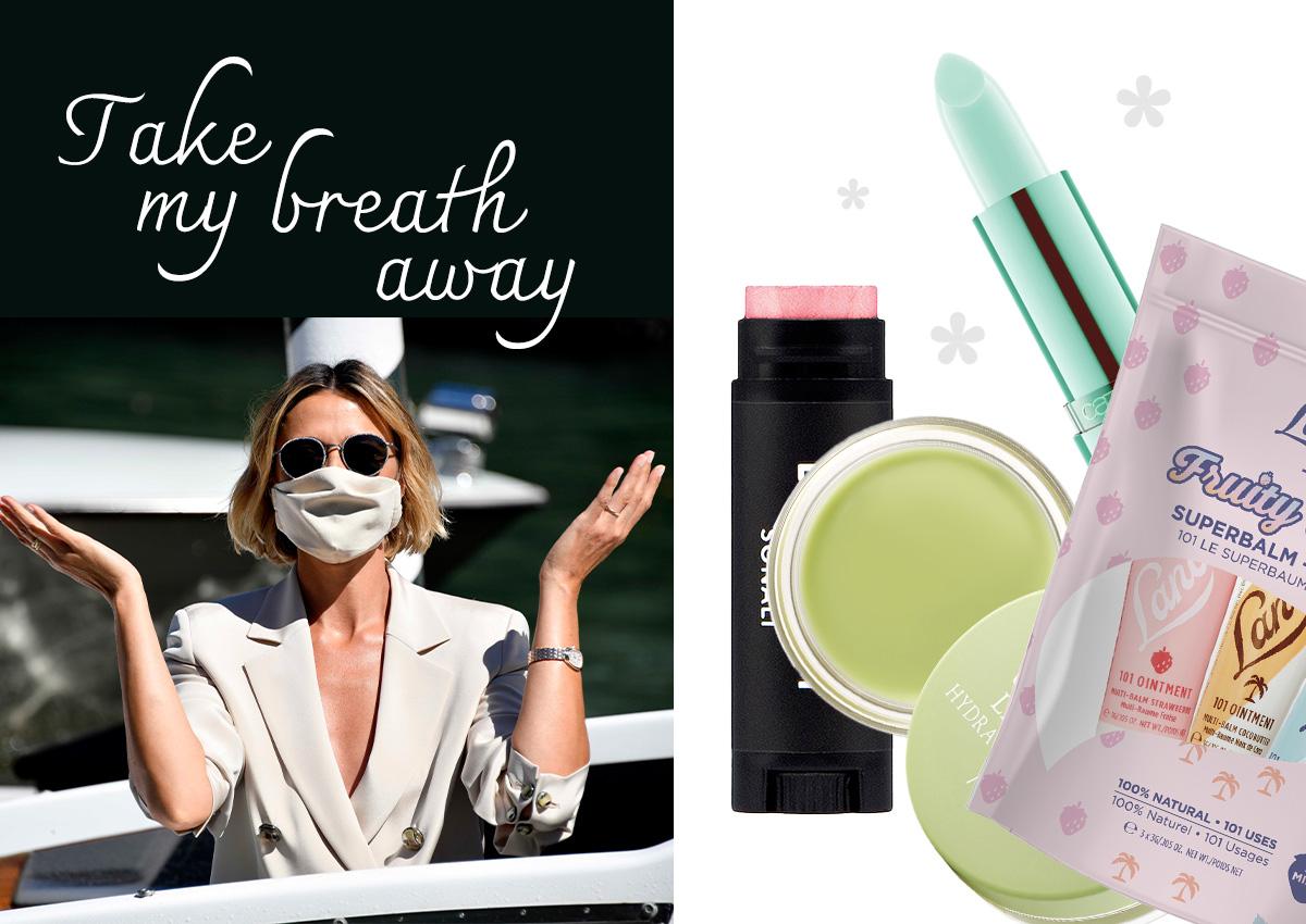 Take my breath away! 5 προϊόντα χειλιών με μέντα για να έχεις δροσερή αναπνοή μέσα από τη μάσκα!