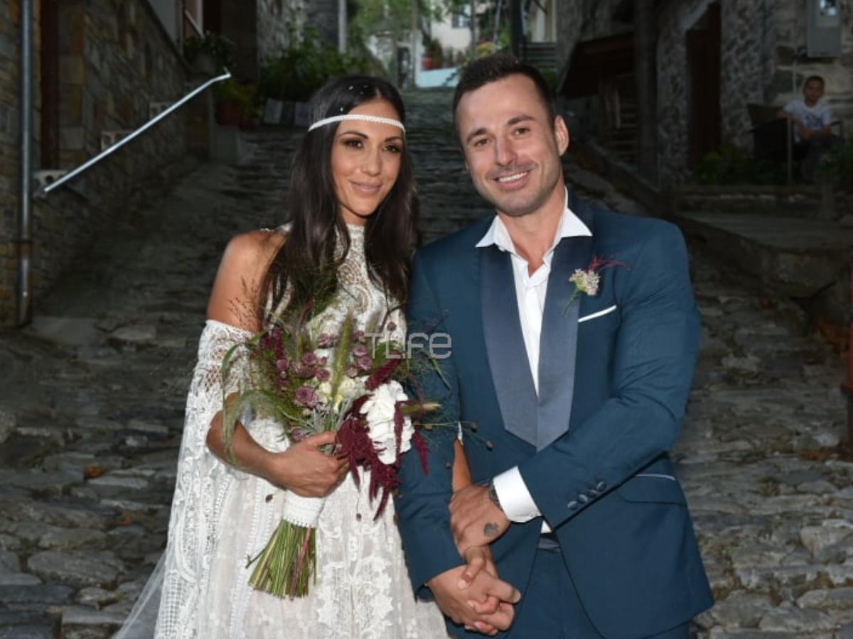 Ανθή Βούλγαρη: Παντρεύτηκε τον καλό της στο Πήλιο, σε μια παραδοσιακή τελετή! Φωτογραφίες και βίντεο