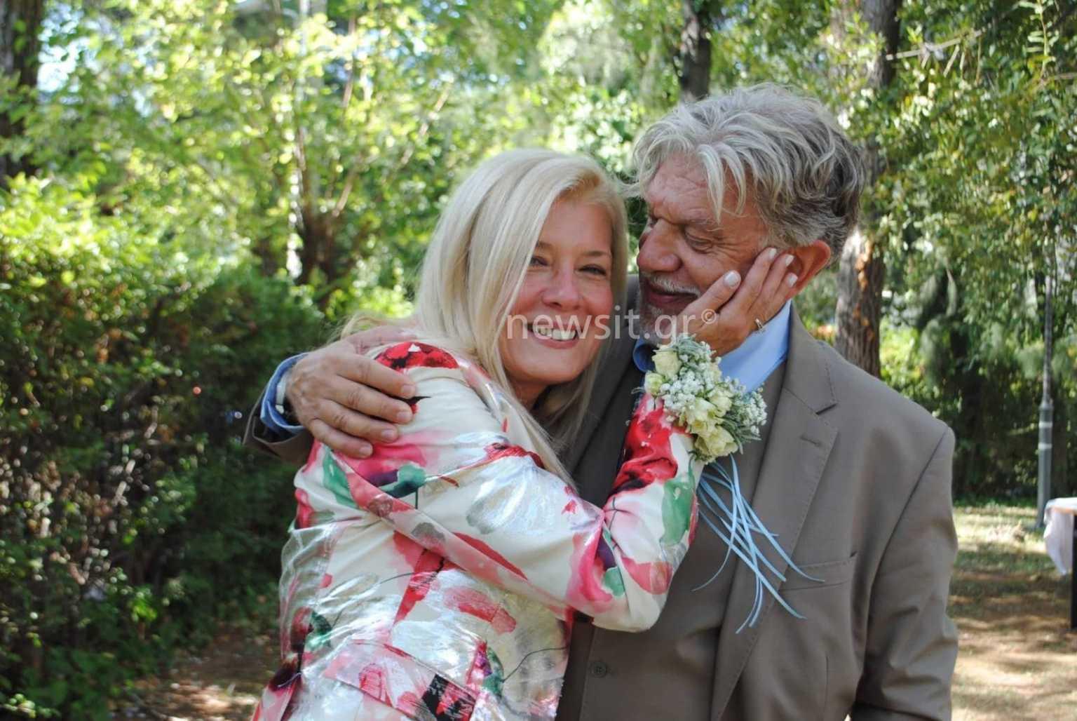 """Γιάννης Βούρος: Η σύζυγος του Λένα Κώνστα  στο TLIFE – """"Τον παντρεύτηκα ξανά γιατί με διεκδίκησε"""""""