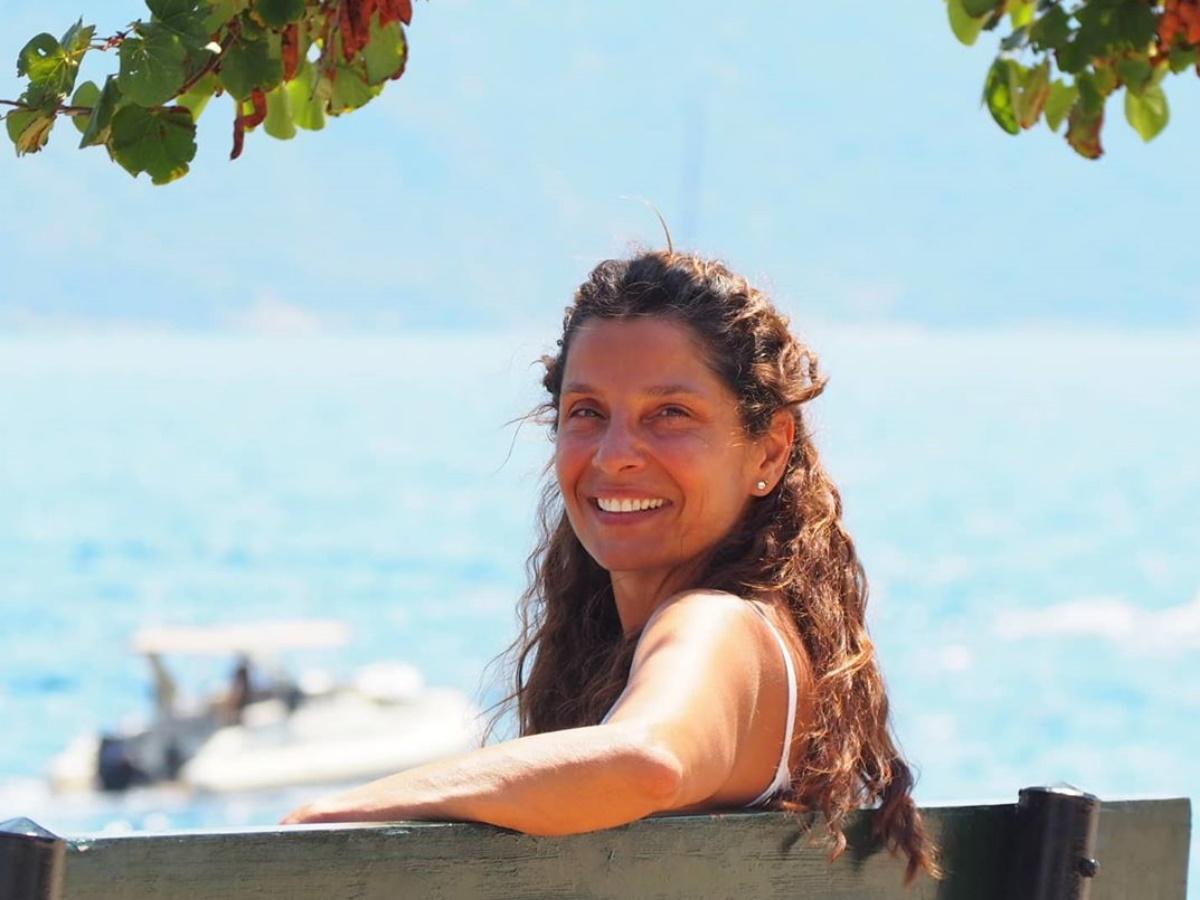 Πόπη Τσαπανίδου: Οι δημόσιες ευχές στις δίδυμες κόρες της