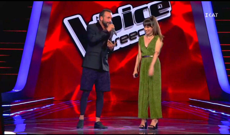 The Voice: Η 17χρονη που μετέτρεψε τον Σάκη Ρούβα σε Bradley Cooper και έκανε τον Πάνο Μουζουράκη να γράψει στίχους αποκλειστικά για εκείνη