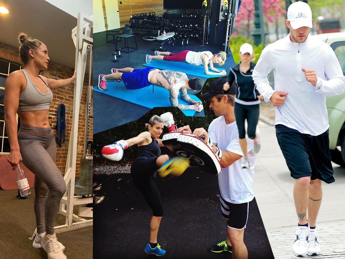 Σκέφτεσαι να ξεκινήσεις γυμναστική με το ταίρι σου; 8 διάσημα ζευγάρια θα σε πείσουν!