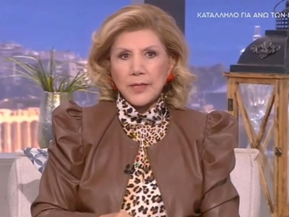Λίτσα Πατέρα: Μία ημέρα πριν, είχε μιλήσει για σεισμό! (video)