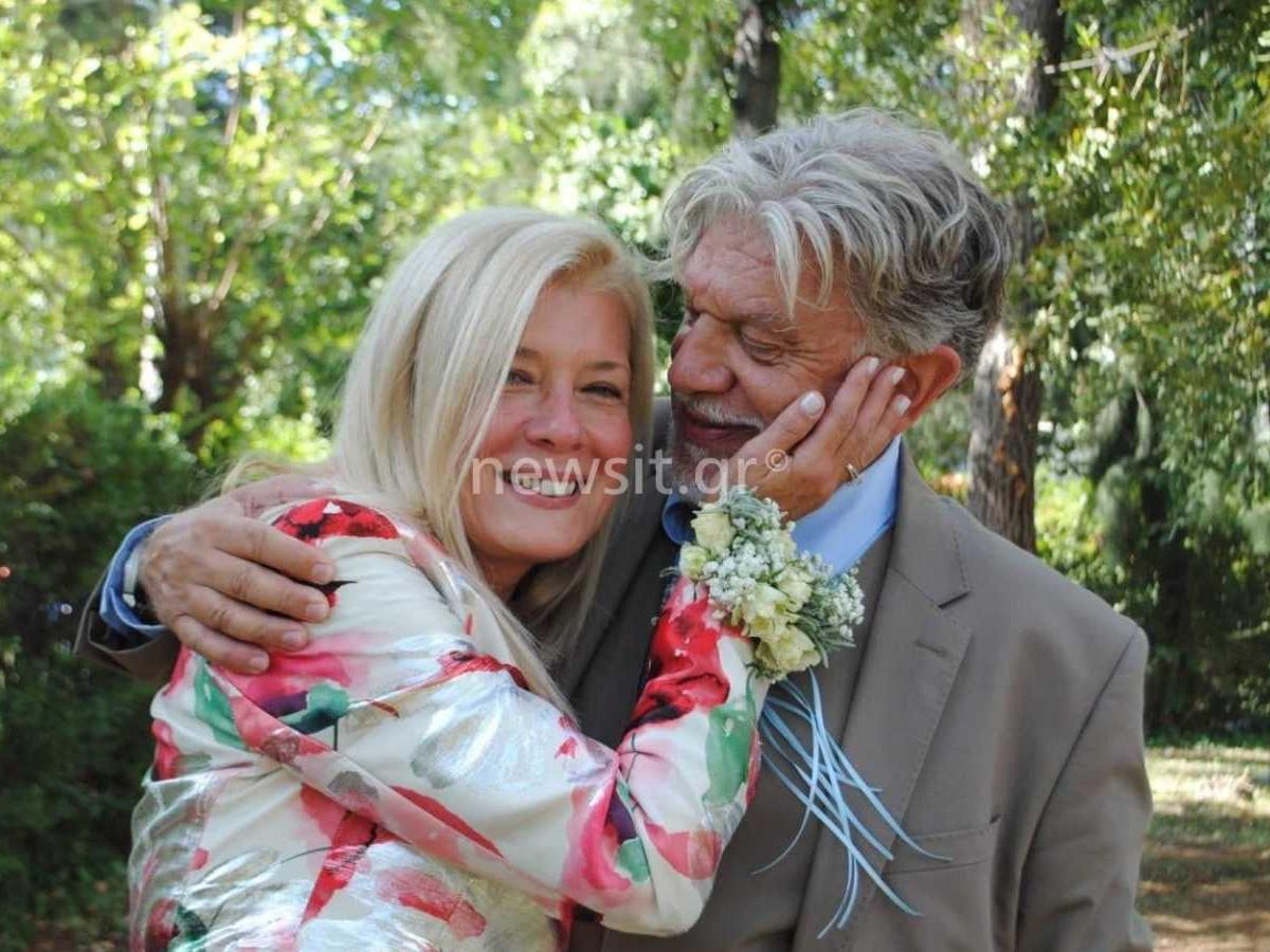 Ο Γιάννης Βούρος στην πρώτη του συνέντευξη, αφού ξαναπαντρεύτηκε την πρώην σύζυγό του Λένα Κώνστα (video)
