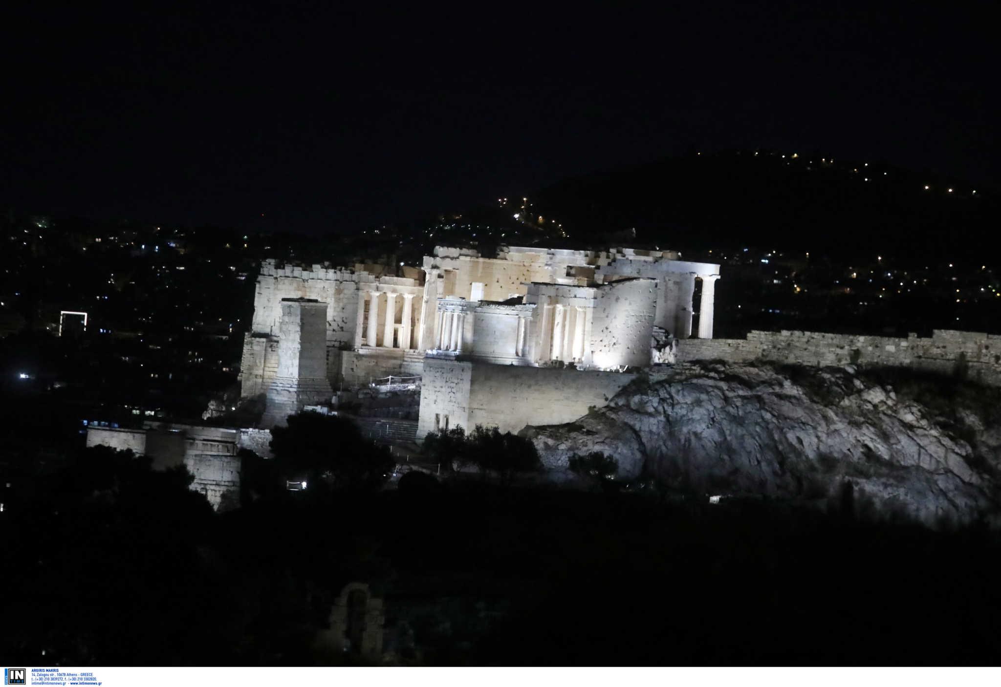 Πιο λαμπερή από ποτέ η Ακρόπολη! Άκρως εντυπωσιακός ο νέος φωτισμός της (pics)