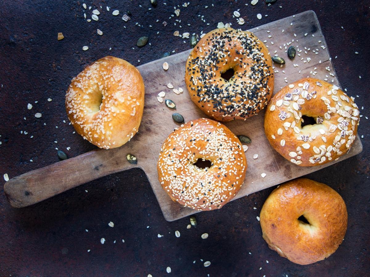 Συνταγή για χειροποίητα bagel