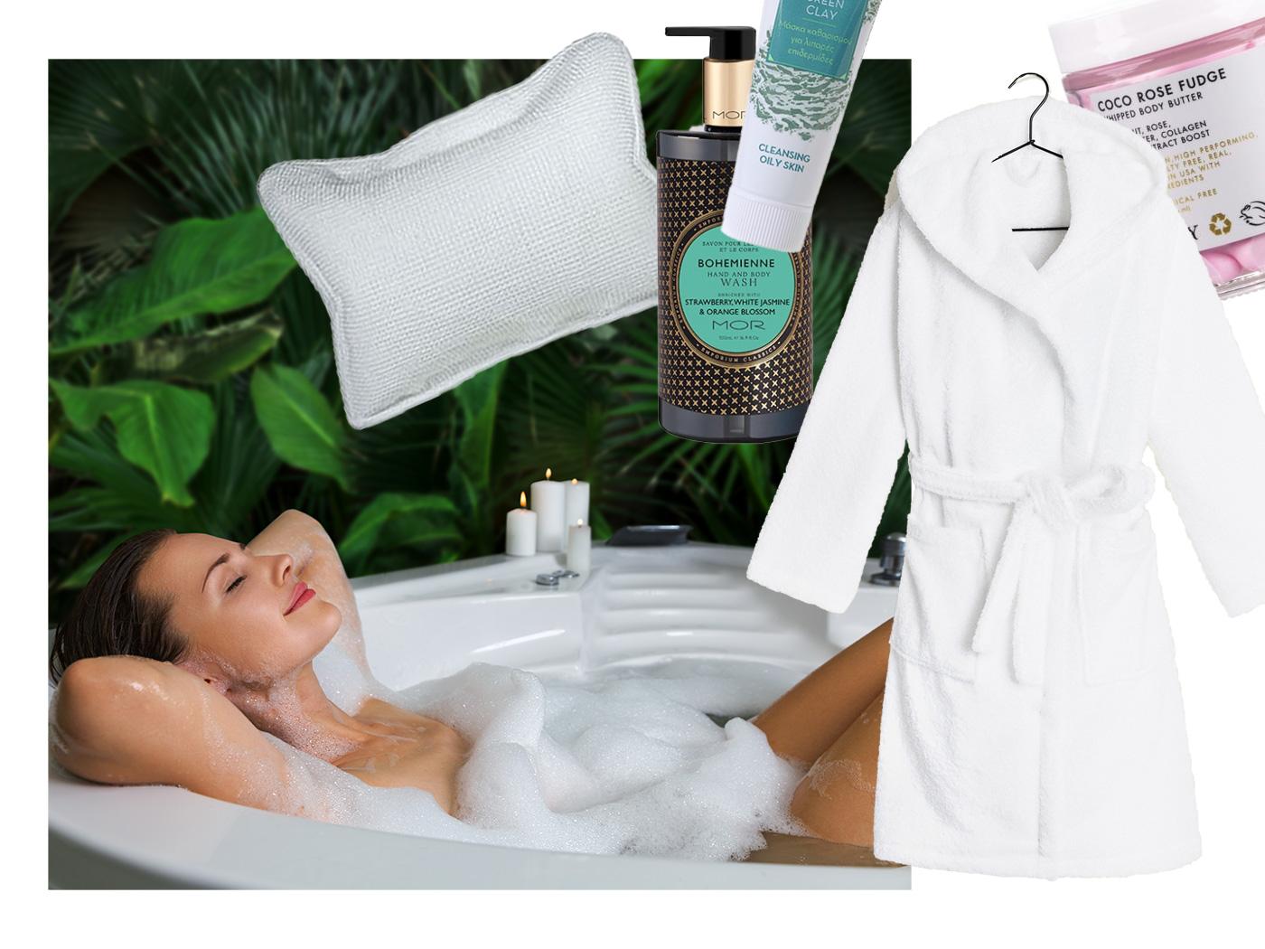 6 tips για να περάσεις στο σπίτι σου όπως θα περνούσες σε ένα spa!