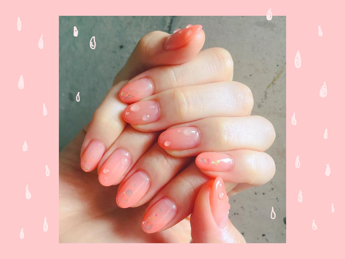 Raindrop nails! Τα… βρεγμένα νύχια είναι το επόμενο nail art που θα κάνουμε!