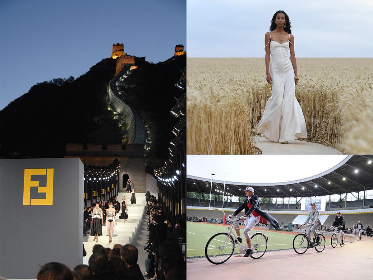 Τα πιο ασυνήθιστα μέρη που έχουν γίνει fashion show!