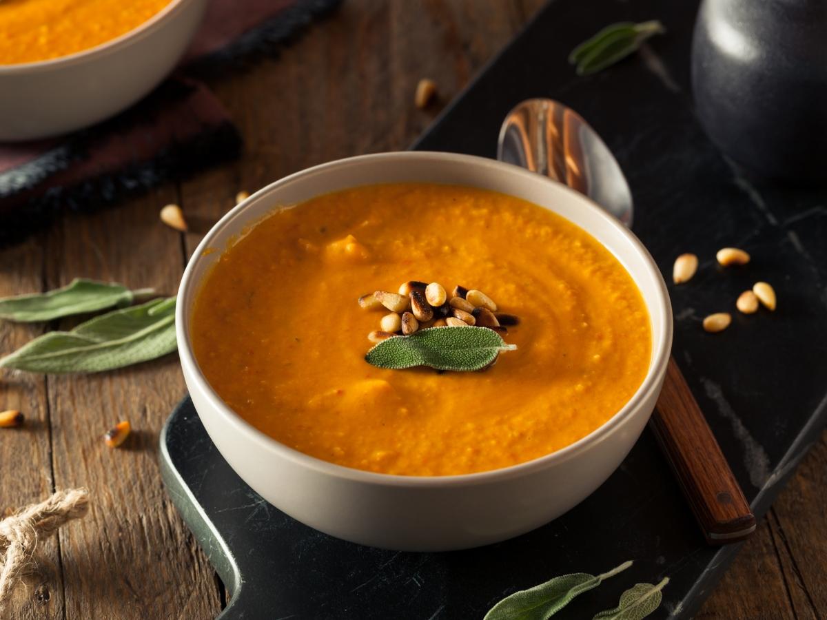 Συνταγή για βελουτέ σούπα καρότου