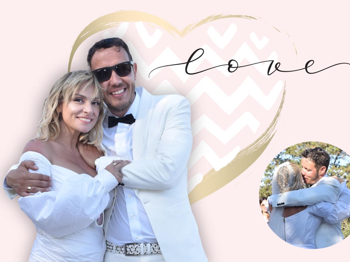 Γάμος Ζουγανέλη – Δημητρίου: 10+1 φωτογραφίες που δεν έχεις δει από την πιο ευτυχισμένη μέρα της ζωής τους
