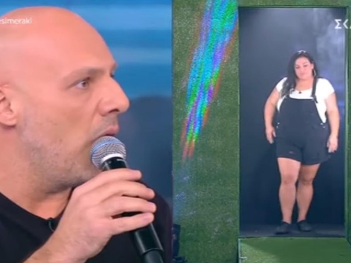 Καλό Μεσημεράκι: H Αφροδίτη του Big Brother έκανε είσοδο με twerking και σπαγγάτο (video)
