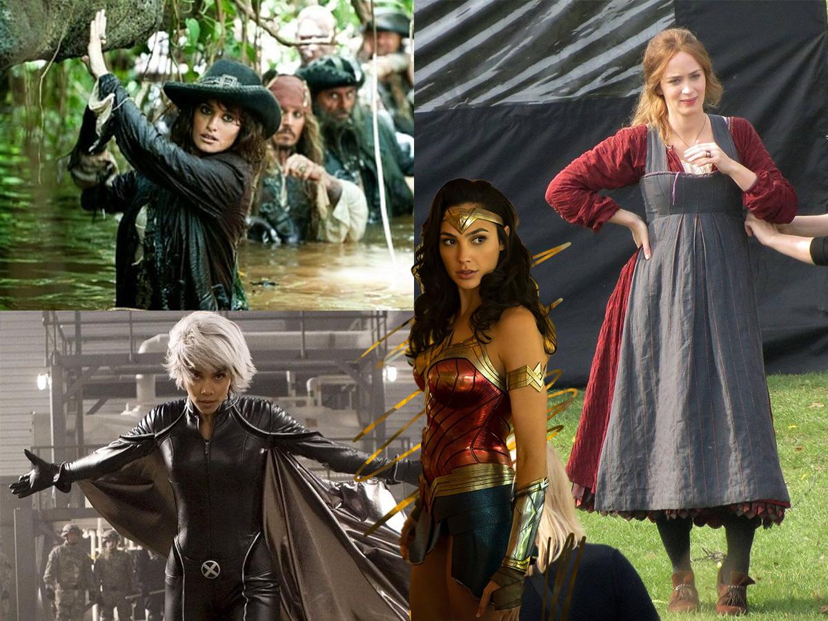 8 διάσημες ηθοποιοί που ήταν σε ενδιαφέρουσα στα γυρίσματα πετυχημένων ταινιών