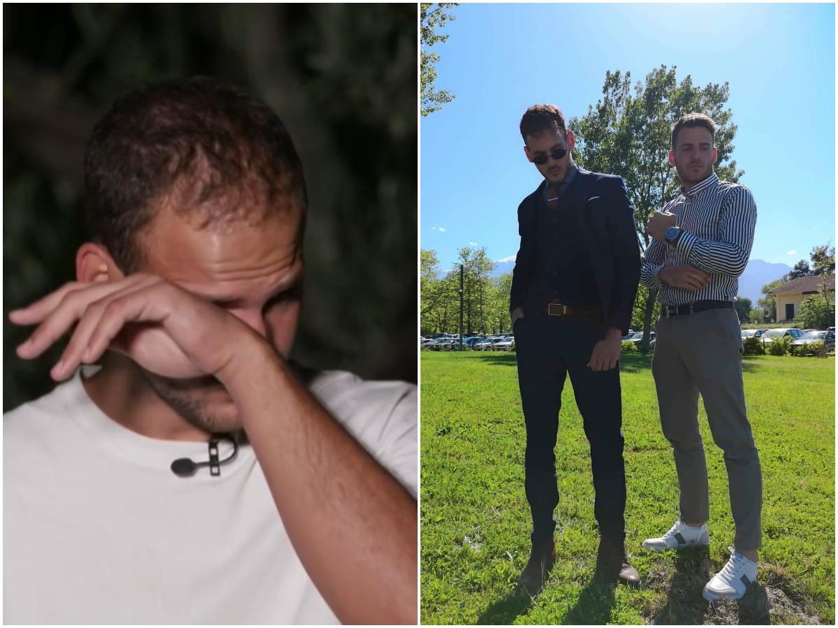 GNTM: Λύγισε ο Παναγιώτης μιλώντας για τον δίδυμο αδερφό του – Τα δάκρυα του on camera (video)