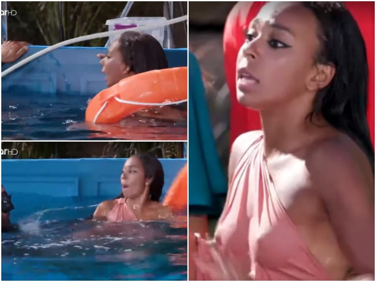 GNTM: Πανικός για τη Ρασέλ στην υποβρύχια φωτογράφιση: «Δεν μπορώ… Πνίγομαι» (video)