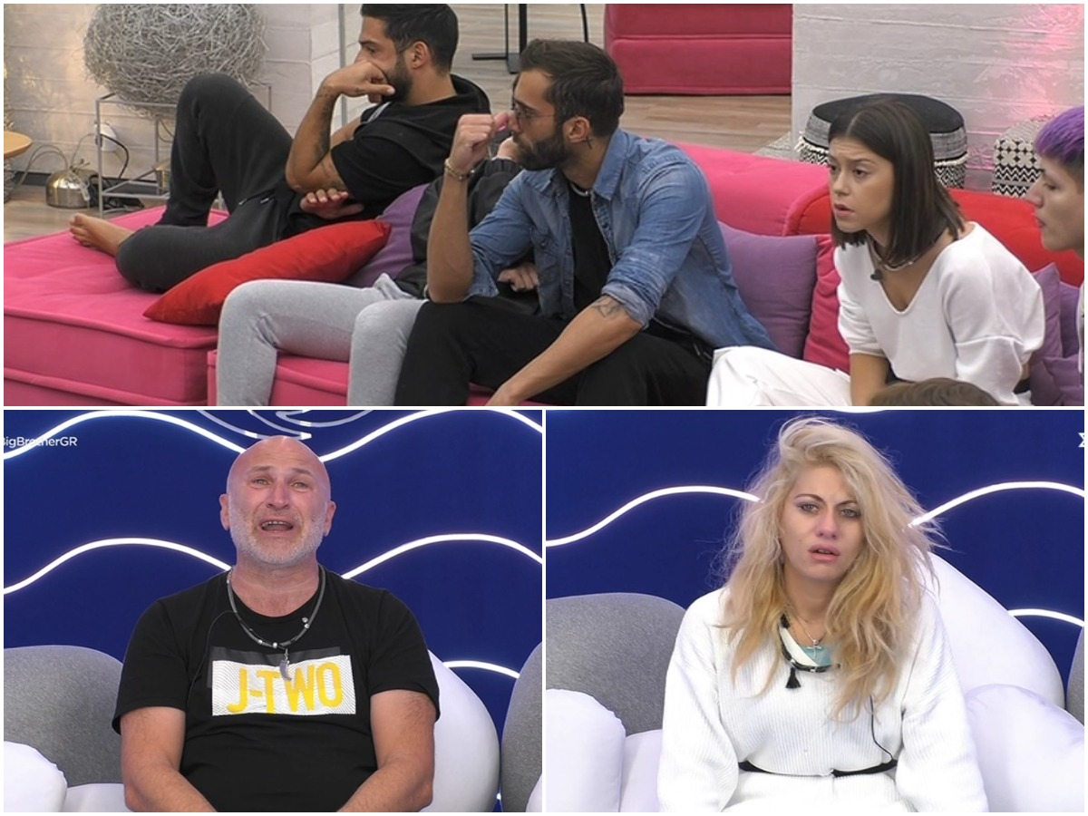 Big Brother: Η στιγμή που οι παίκτες μαθαίνουν για την έξαρση του κορονοϊού – Σε άσχημη ψυχολογική κατάσταση ο Μακρίδης και η Ψυχαράκη (video)
