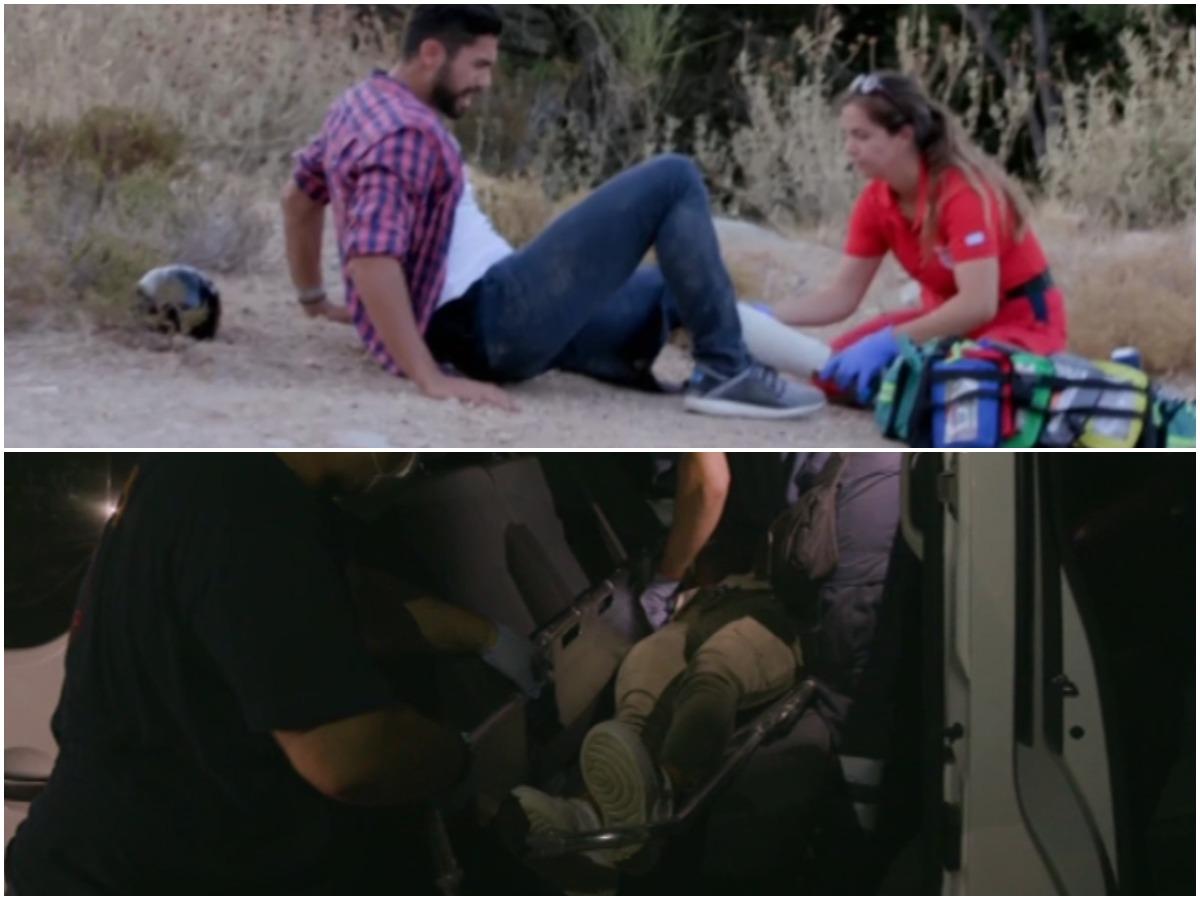 The Bachelor: Ο Παναγιώτης και η Ραφαέλα τραυματίστηκαν με τα άλογά τους – Η αντίδραση των κοριτσιών (video)
