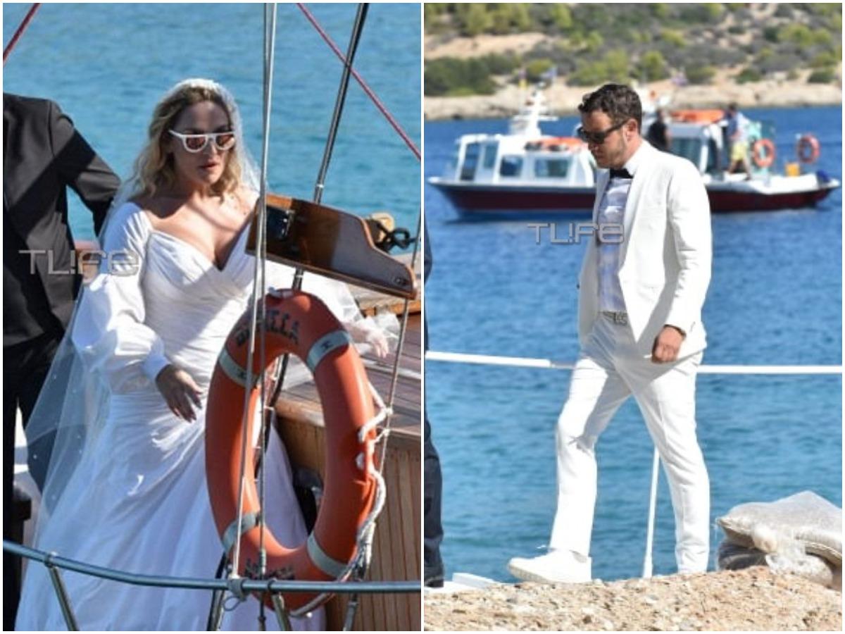 Ελεωνόρα Ζουγανέλη – Σπύρος Δημητρίου: Αυτή την ώρα ο γάμος τους – Αποκλειστικές φωτογραφίες