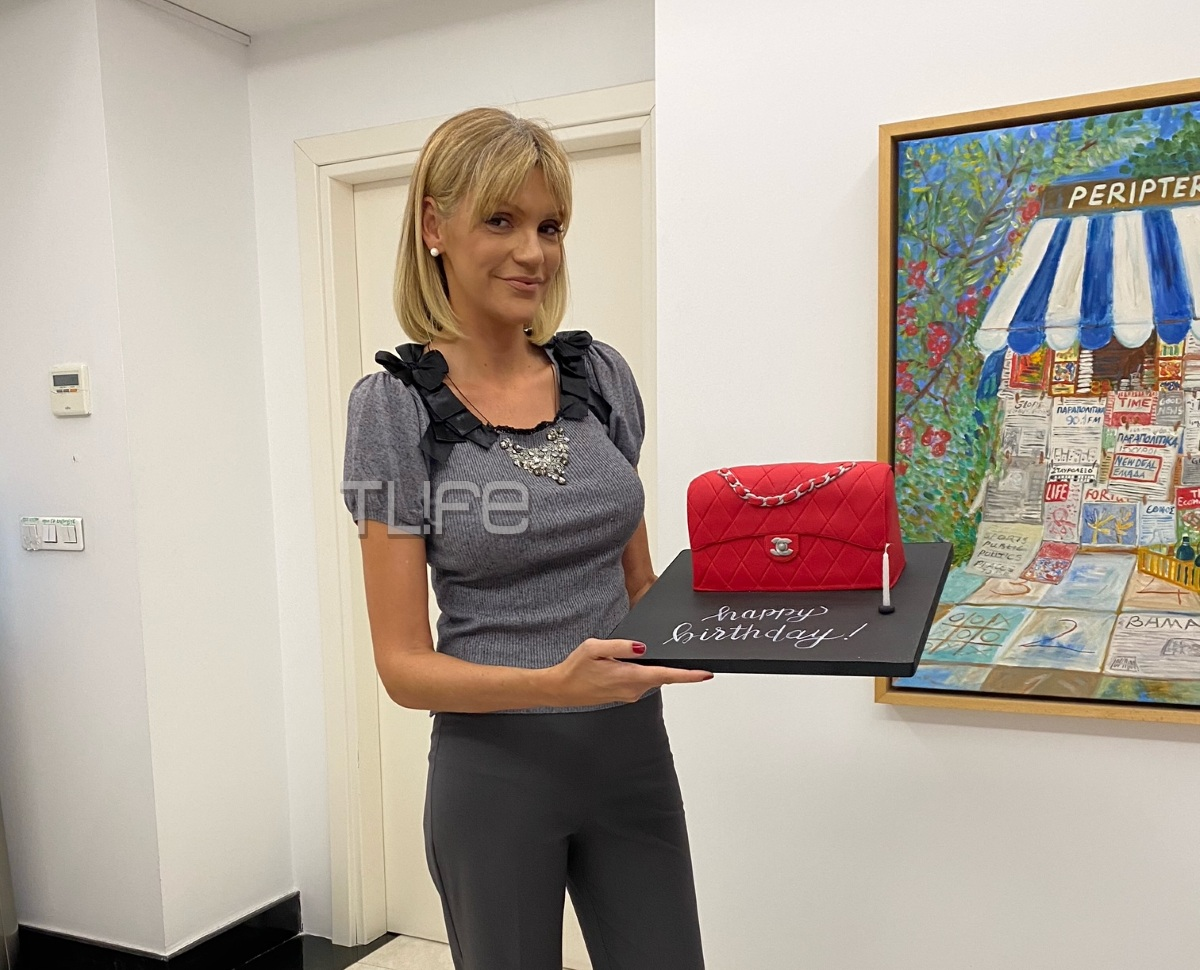 Μαριάννα Βαρδινογιάννη: Η μοναδική τούρτα έκπληξη που έστειλε στη Σάσα Σταμάτη για τα γενέθλιά της! (pics,vid)