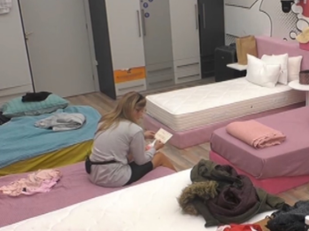 Big Brother – Σοφία Δανέζη: Το γράμμα που της άφησε ο Δημήτρης Κεχαγιάς μετά το φιλί τους (video)