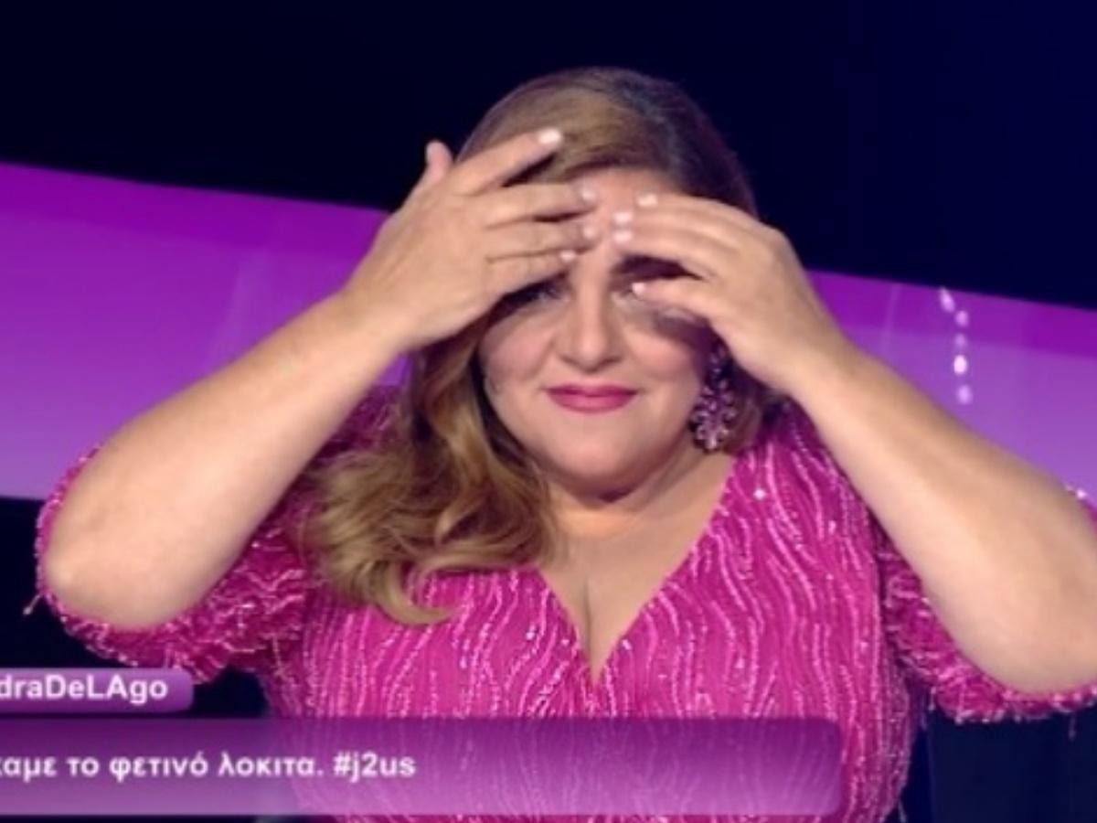J2US: Η απίστευτη γκάφα της Βίκυς Σταυροπούλου – Δε φαντάζεσαι πως αποκάλεσε τον Τριαντάφυλλο (video)