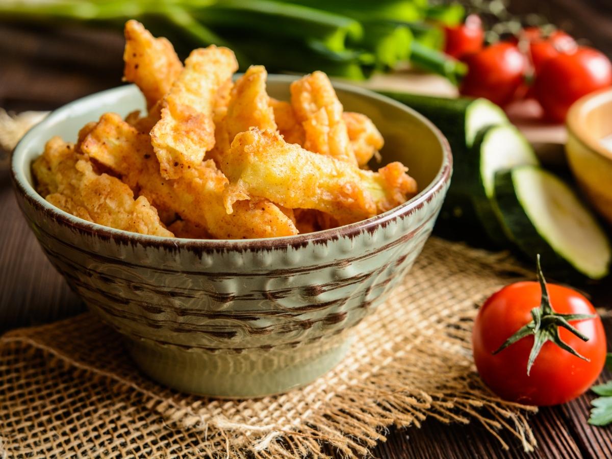 Συνταγή για στικς κολοκυθιού στο φούρνο