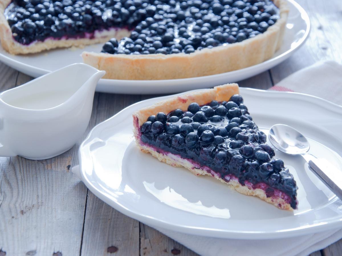 Συνταγή για τάρτα με blueberries