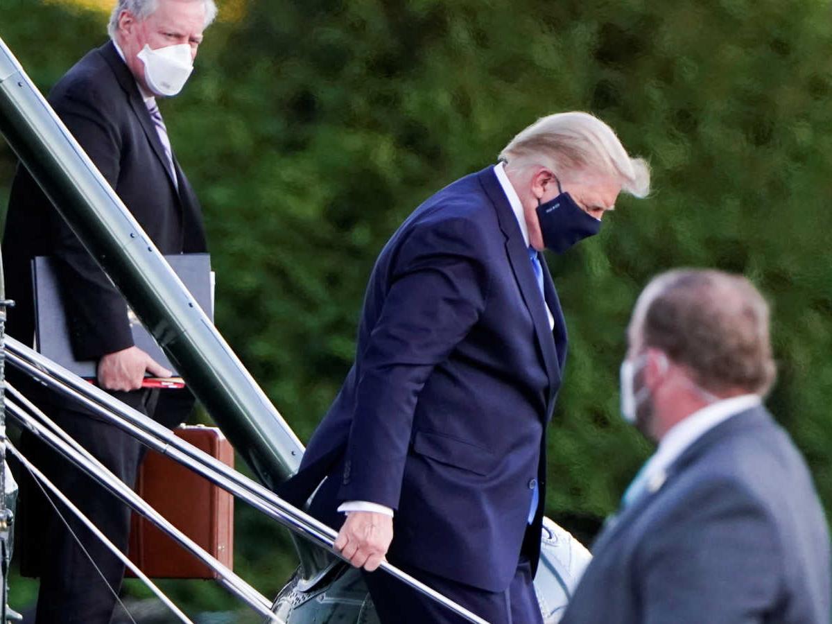 Κρίσιμες οι επόμενες 48 ώρες για την υγεία του Donald Trump