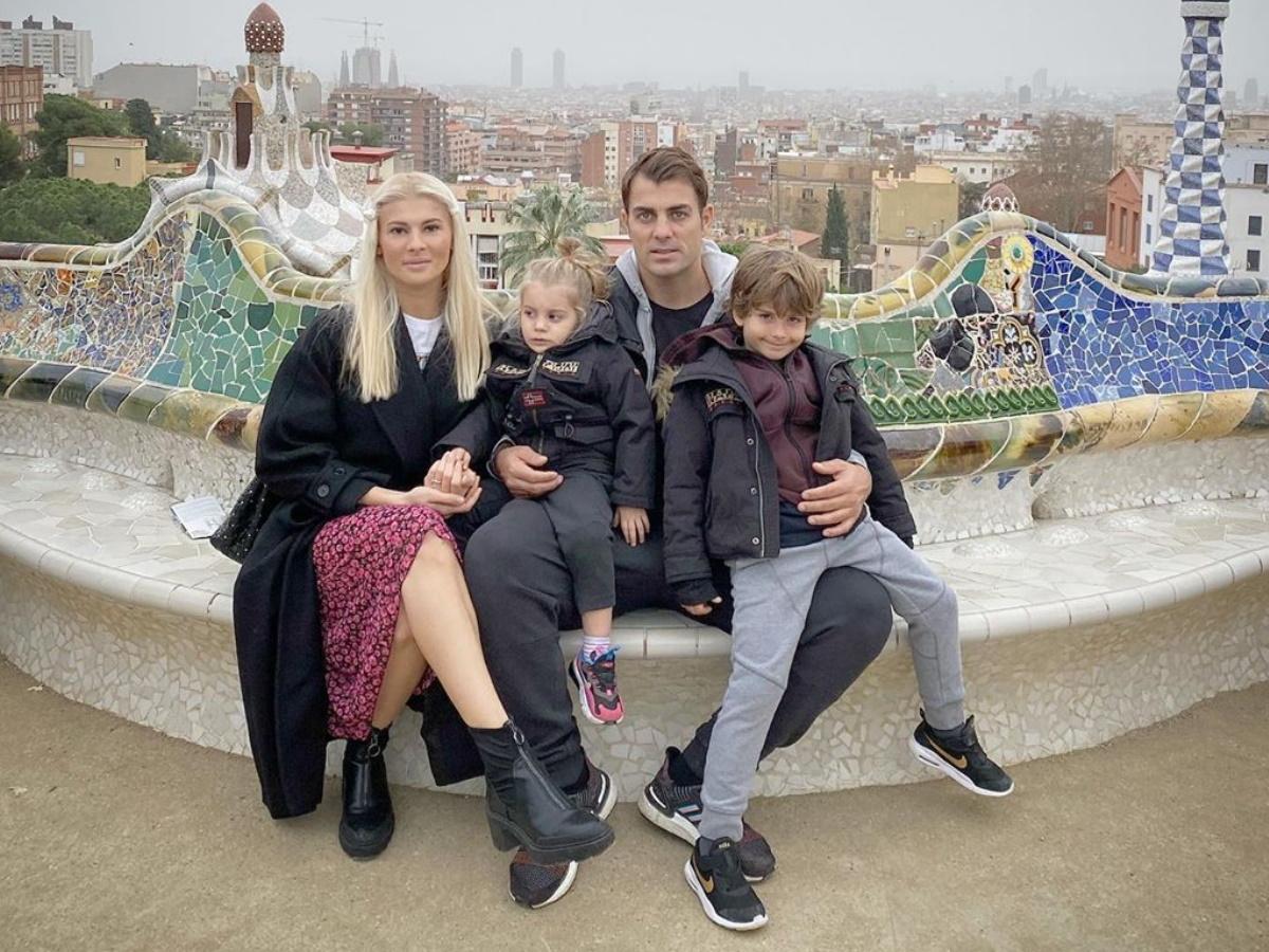 Στέλιος Χανταμπάκης – Όλγα Πηλιάκη: Ο γιος τους έγινε επτά ετών και του έκαναν πάρτι γενεθλίων! (pics)