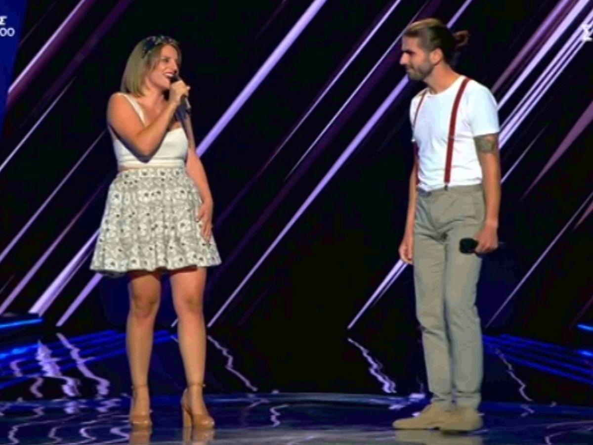 The Voice: Μαζί στη ζωή… μαζί και στη σκηνή του show τραγουδιού! Πέρασε στην επόμενη φάση το ζευγάρι; (video)