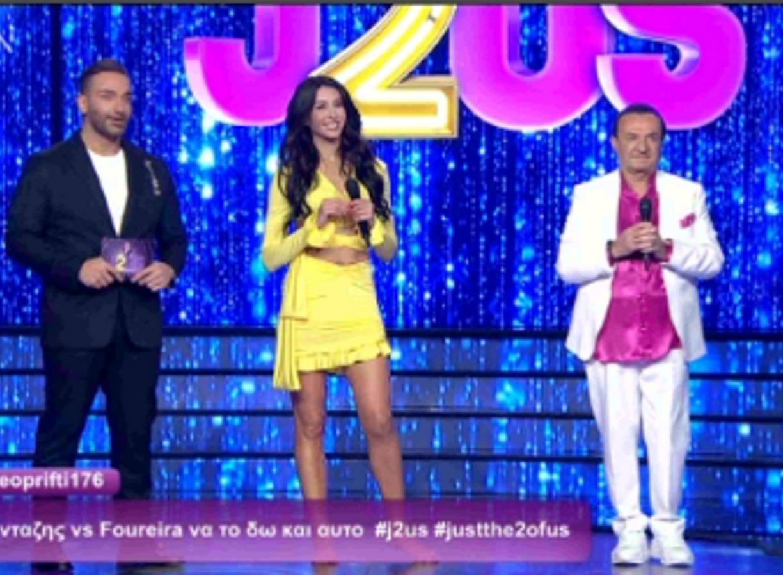 J2US: Λευτέρης Πανταζής και Ζωή Δημητράκου αλά… Φουρέιρα! – Το ντουέτο που ενθουσίασε τους κριτές (video)
