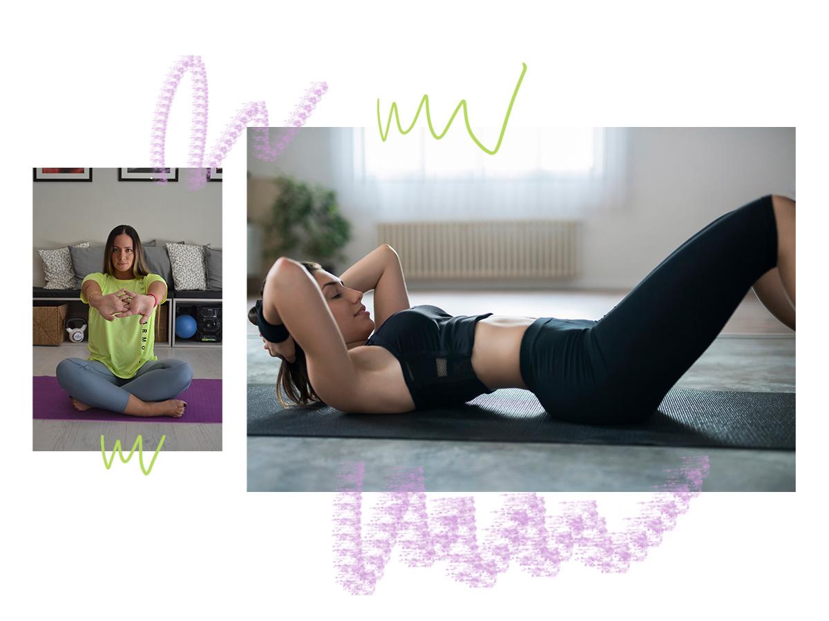 Γυμναστική στο σπίτι: Ασκήσεις για επίπεδη κοιλιά και γραμμωμένους κοιλιακούς