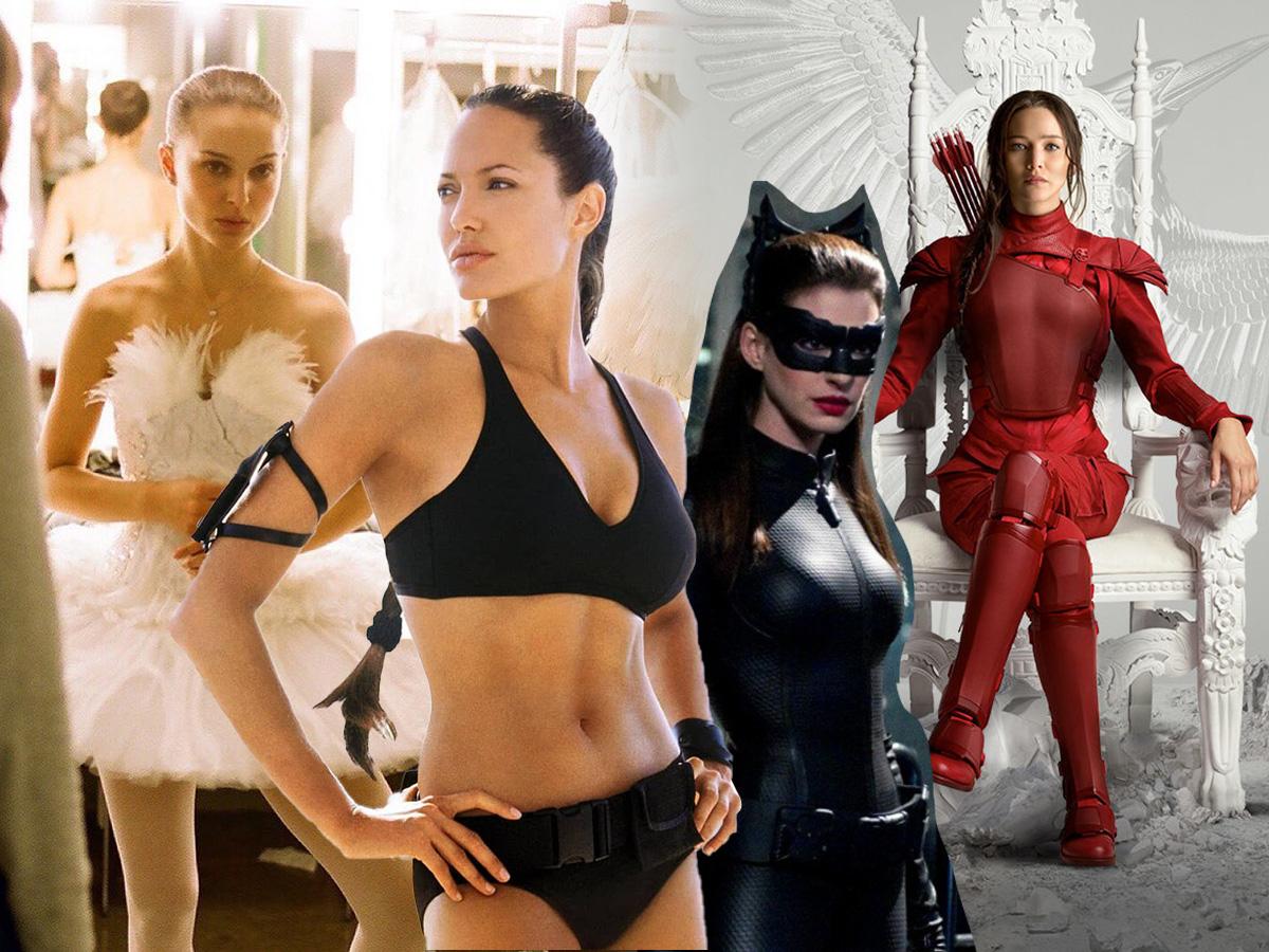 6 διάσημες που ακολούθησαν αυστηρή δίαιτα και σκληρή γυμναστική για να πάρουν το ρόλο
