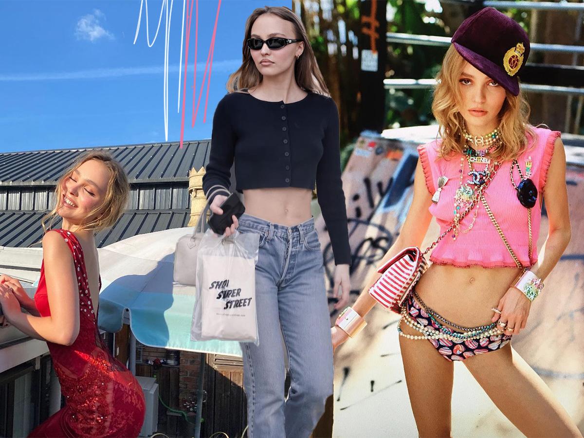 Η Lily-Rose Depp αγαπάει το junk-food, αλλά γυμνάζεται κάθε μέρα. Ποια είναι τα fitness μυστικά της;