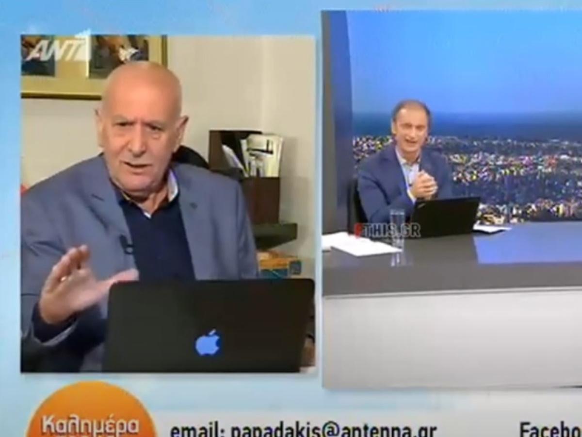 Γιώργος Παπαδάκης: Σε καραντίνα ο παρουσιαστής λόγω έμμεσης επαφής με κρούσμα κορονοϊού (video)