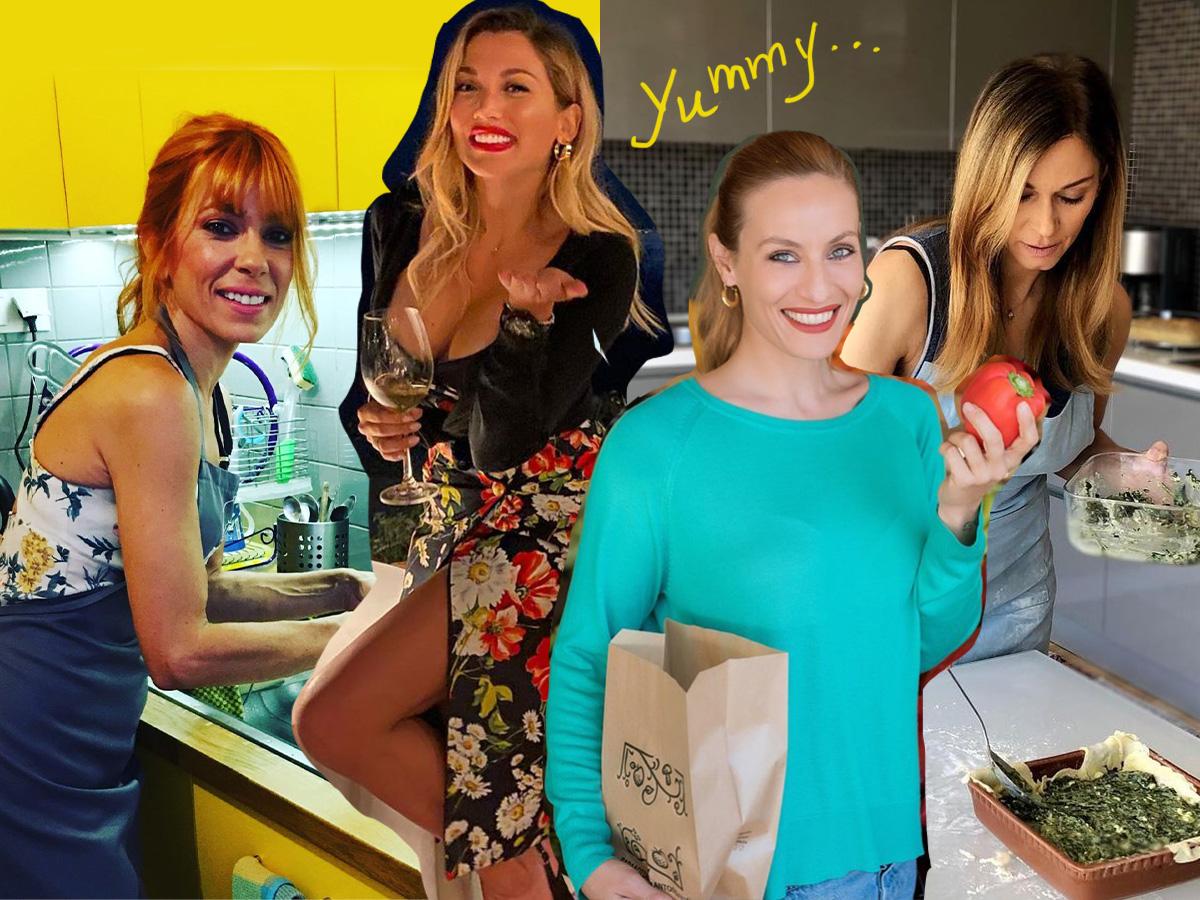 Καραντίνα vol 2: Ποιοι celebrities μπήκαν στην κουζίνα και… μεγαλούργησαν; (pics)